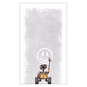 Wall-E. Размер: 35 х 60 см
